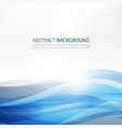 abstract design creativity background of blue vector image