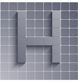 abstract alphabet Eps10 vector image