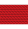 abstract red spiral background vector image vector image
