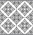 azujelo design lisbon tile seamless pattern vector image vector image