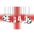 banner the inscription england vector image vector image