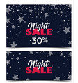 banners for sale vector image vector image