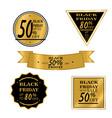black friday sale big sale discount vector image vector image