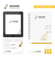 celebrations drink business logo tab app diary vector image vector image