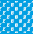 certificate pattern seamless blue vector image vector image