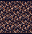 chinese copper seamless pattern background vector image vector image