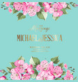 the wedding invitation vector image