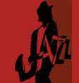 musical jazz festival vector image