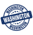Washington stamp vector image