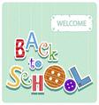 school 1123 vector image
