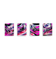 abstract background texture of brightly colored vector image