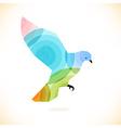Abstract bird design vector image vector image