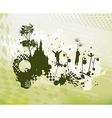 Children Fantasy World Concept Background vector image vector image