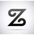 logo for letter Z Design template vector image vector image