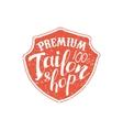 Premium Tailor Shop Vintage Emblem vector image vector image