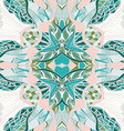 Traditional ornamental paisley bandanna Hand drawn vector image vector image