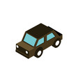 transport sedan car vehicle isometric icon vector image vector image