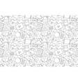 tutorial pattern vector image vector image