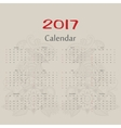 calendar Two roosters usa format vector image