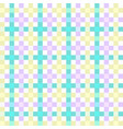 checkered tablecloths pattern vector image vector image