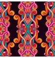 Festive Colorful seamless mandala pattern vector image vector image