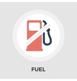 Fuel flat icon vector image