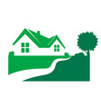 housing symbol for business vector image vector image