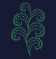 lace pattern of fine lines vector image