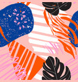 modern brasillian pattern carnival design in nave vector image vector image
