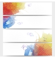 Abstract hand drawn watercolor background with vector image