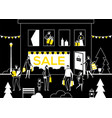 big sale - flat design style vector image vector image
