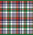 check pixel color plaid seamless pattern vector image vector image