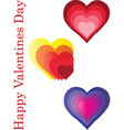 happy valentines day - vector image vector image