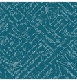 Math seamless background EPS 10 vector image vector image