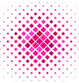 pink diagonal square pattern background vector image vector image