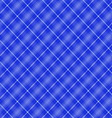 Seamless cross blue shading diagonal pattern vector image vector image