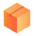 warehouse box icon isometric style vector image