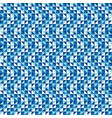 blue triangles pattern background vector image