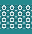 blue and white moroccan motif tile pattern vector image
