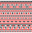 ethnic motifs background vector image vector image
