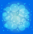 festive pattern in blue color vector image vector image