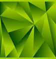 polygonal background with triangle shapes vector image