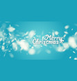 realistic snowflake against a background vector image