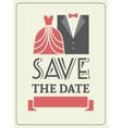 Save the date invitation card concept