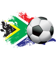 South Africa Soccer Grunge vector image vector image