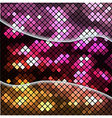 Abstract backgrond with mosaic vector image