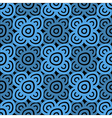 Background dark blue and black vector image