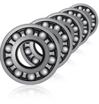 Bearings vector image