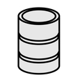 cd storage icon vector image vector image