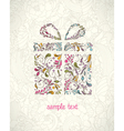 Doodles christmas greeting card